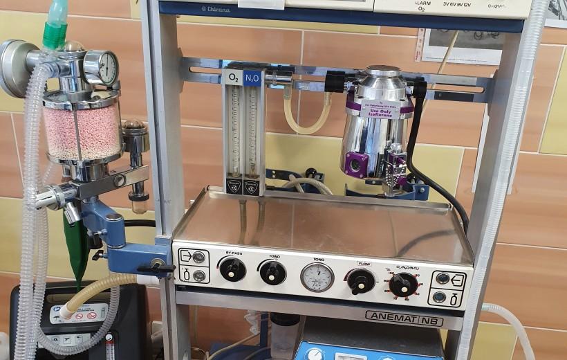 anesteziologický přístroj inhalační